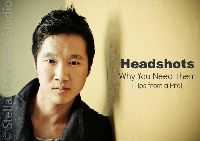 headshots tips from a pro