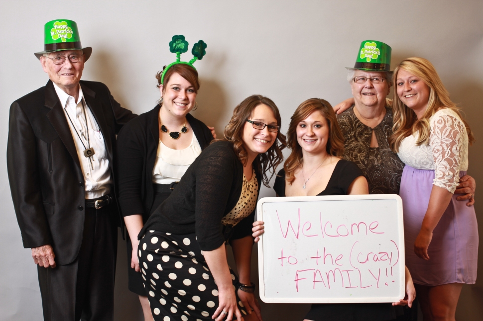 St Patrick's Day Photo Booth