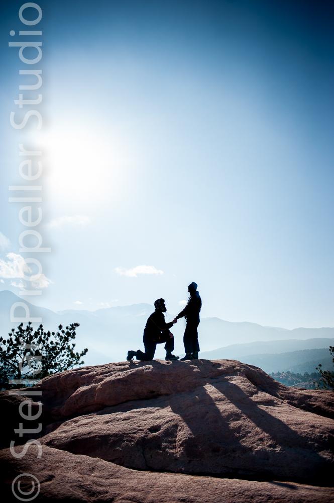 Colorado Engagement pic of the week stellar propeller